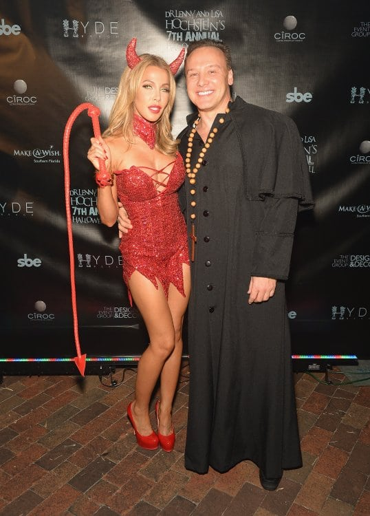 Lisa And Lenny Hochstein Halloween Ball