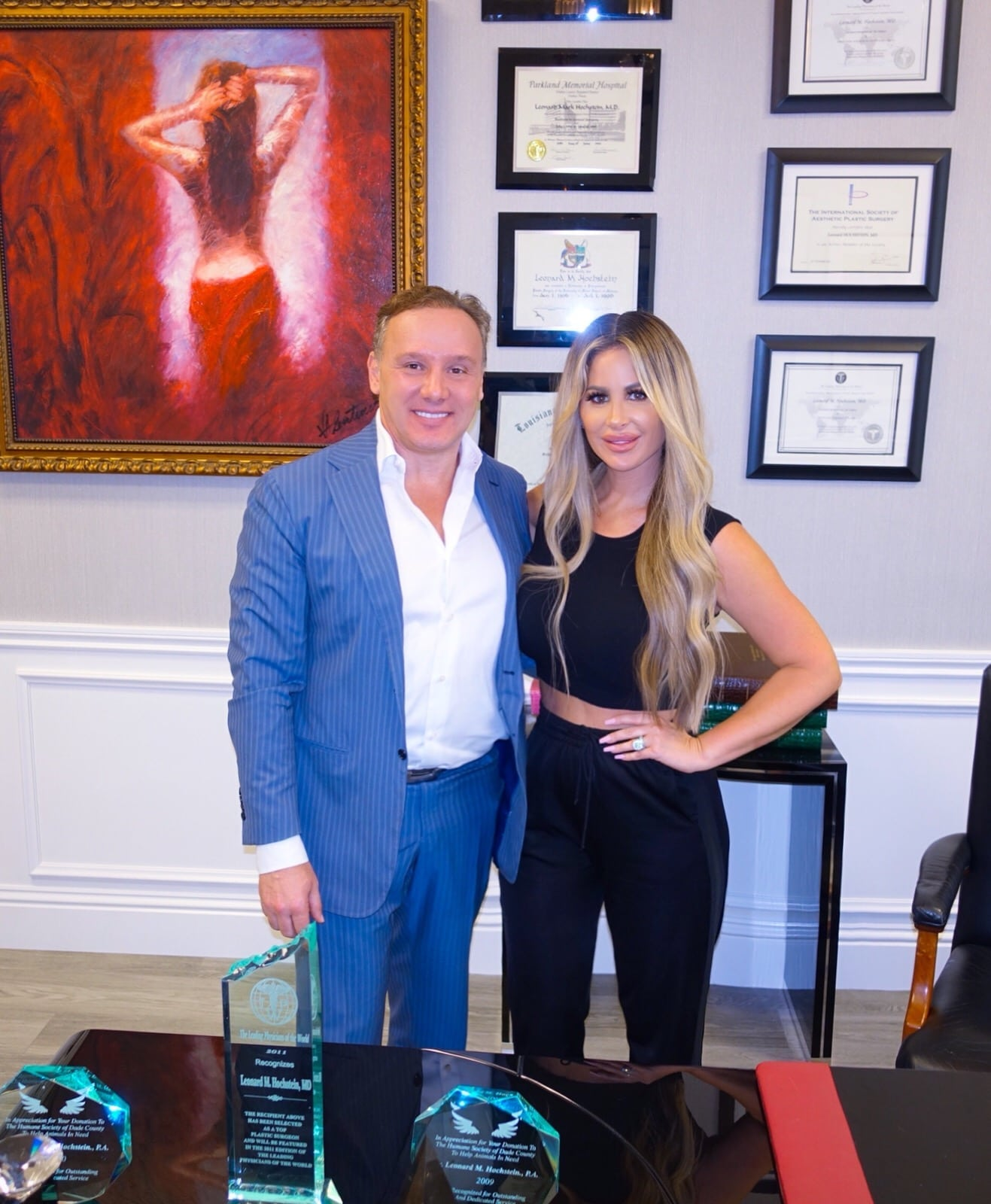 kim zolciak hochstein office