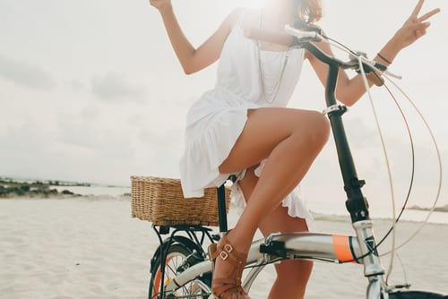 young beautiful hipster woman in white dress, tropical vacation, summer trend style, beach-img-blog