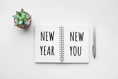 new year new you text on notepad with office accessories-img-blog
