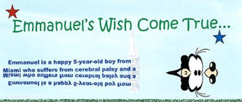 Make A Wish - Emmanuel's