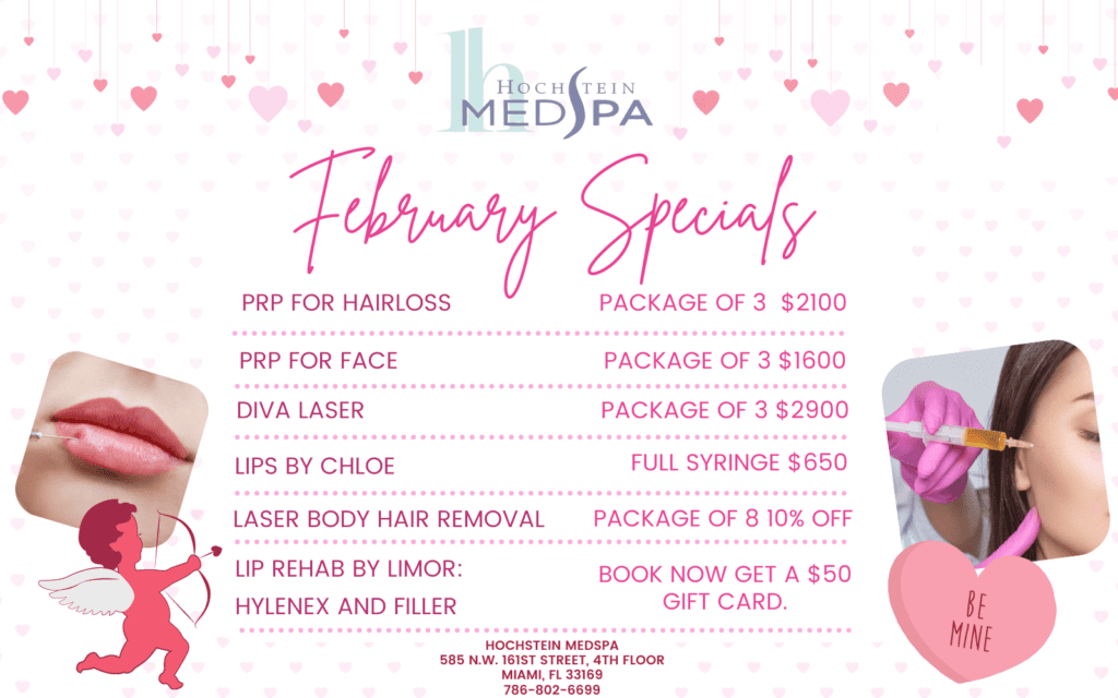 February MedSpa Specials