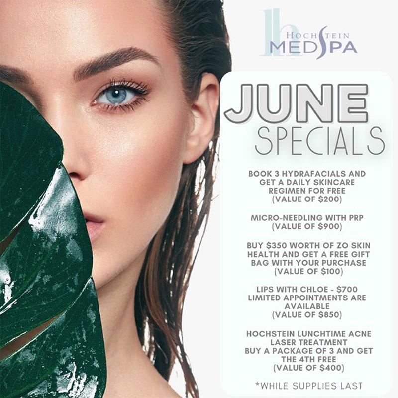 June Monthly Specials